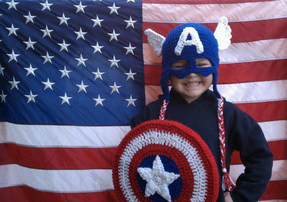 Capitan America (gorro y escudo) | Ya-De