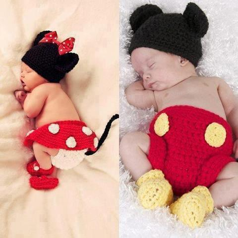Disfraces Mickey Mouse y Minnie Mouse